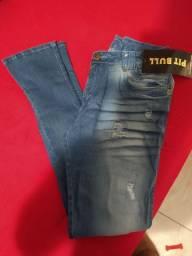 Calça jeans masculina Pit Bull original