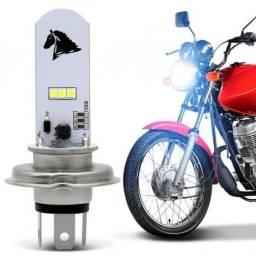 Farol de LED Moto H4 Universal
