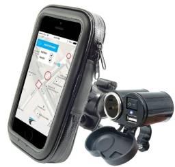 Kit motoboy suporte para celular