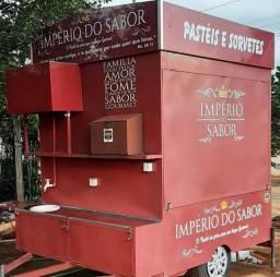 Trailer foodtruck Carretinha Reboque