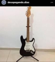 Guitarra strato preta