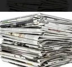 Jornal usado