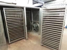 Secador Industrial A Vapor Para Secar 600kg Por Lote Em 12h