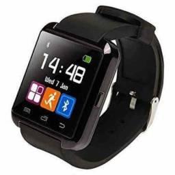Smartwatch u8 Relógio Inteligente Faz e Recebe Ligações Via Bluetooth Android/iOS
