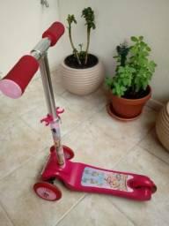 Patinete Princess rosa até 4 anos