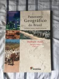 Livro Panorama Geográfico editora Moderna