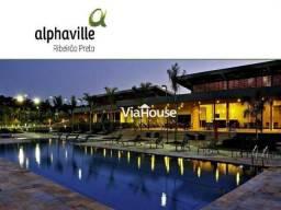Terreno à venda, 487 m² por r$ 195.000 - condomínio alphaville - ribeirão preto/sp