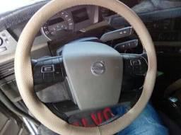 Capa de volante custurada na hora