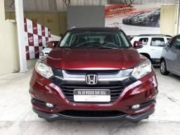 Honda 2016/2017 hr-v exl 1.8 cvt Automatico vermelha completa garantia confira - 2017