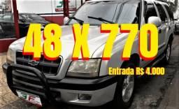 Blazer Advantage 2.4 MPFI 4X2 Gasolina/gás 4P - 2005