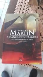 Livro Game of Thrones. A Dança dos Dragões