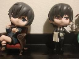 Boneco Kuroshitsuji Ciel e Sebastian