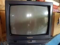 TV Panasonic 20 polegadas e Sharp e Daytron 14 polegadas