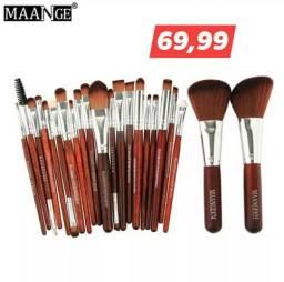 Kit 22 pincéis maquiagem profissional (promoção)
