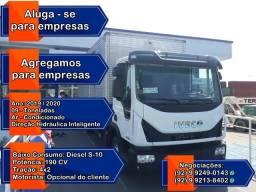 Alugo ou Agrego Caminhão Baú 9 Toneladas.