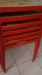 Mesas plásticas