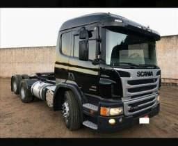Scania P 360 6×2 Preta Ano 2013 - 2013