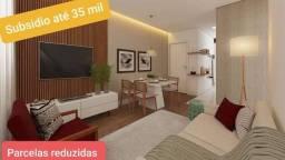 Financia até 100%, 2 dormitórios em Pinhais.