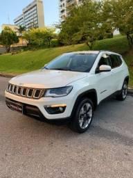 Jeep Compass longitude Diesel 4x4 Aut completa branca 2019