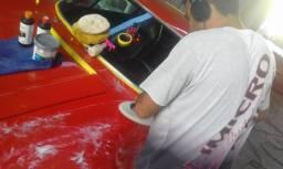 Polimento Técnico com detalhamento em Carros Antigos..