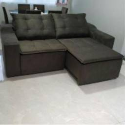 Título do anúncio: Sofá super confortável- retrátil e reclinável - modelo Hellen