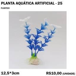 Título do anúncio: Planta de Aquário Artificial - Modelo 25