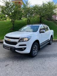 S-10 high country 2017 branca Aut top Diesel 4x4