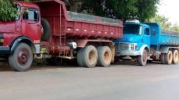 Caminhão caçamba  1113 Leia a descrição