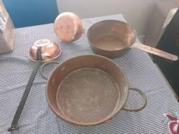 Peças de cobre