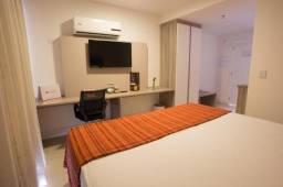 Flat com 1 dormitório para alugar, 28 m² por R$ 1.500/mês - Imbetiba - Macaé/RJ