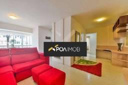 Apartamento mobiliado com 02 dormitórios no Mont Serrat