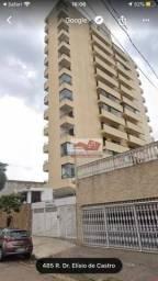 Apartamento com 3 dormitórios para alugar, 100 m² por R$ 2.800,00/mês - Vila Dom Pedro I -