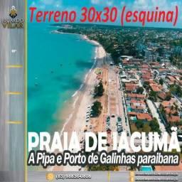 02 Lotes em Jacumã 30x30!
