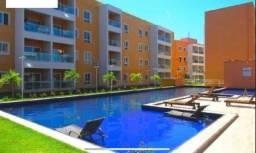 Alugo apartamento com 2 quartos no Eusébio