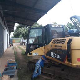 Escavadeira hidráulica pc 315dl