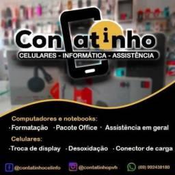 Consertos de celulares e informática vendas de peças e acessórios