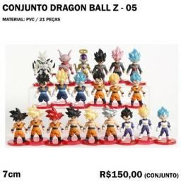 Conjunto Dragon Ball Z 21 Peças