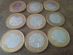Vendo moedas colecionáveis: