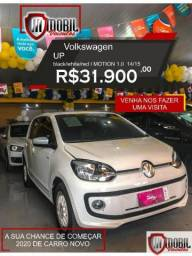 Volkswagen Up black/white/red I MOTION 1.0 Flex 5p - 2015