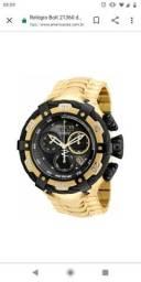 Relógio invicta Bolt 21360 dourado preto thunderbolt