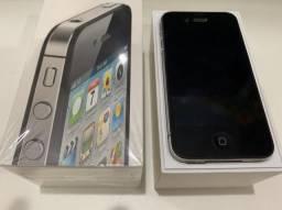 Oferta: iPhone 4s preto 16 gb c/ caixa e acessórios