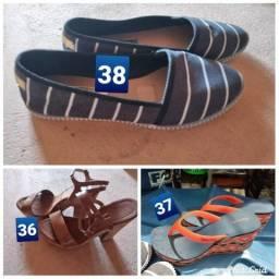 Sandálias 20 cada