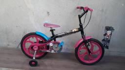 Bicicleta aro 16 Caloi Monster Higi Praticamente Nova