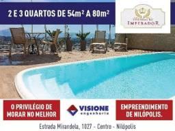 Vivendas do Imperador - 54 a 80m² - Nilópolis, RJ