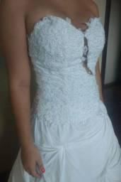 Vestido de noiva - passa cartão