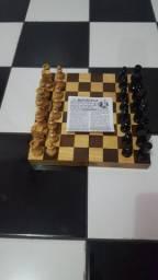 Jogo Xadrez original madeira BOTTICELLI novo