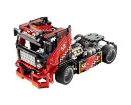 Blocos tipo Lego Technic, 608 pcs, truck race car