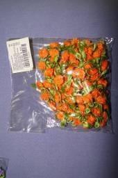 Mini flores aviamentos para confecções
