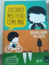Livro de Gabriela kapim - meu filho come mal