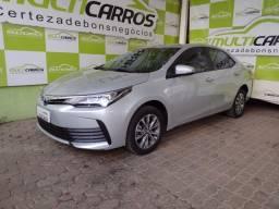 Toyota corolla gli 1.8 automático flex completo novíssimo